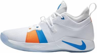 Nike PG2 White/Blue Men
