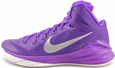 5a13808ed9ed Nike Hyperdunk 2014 Court Purple Metallic Silver Men