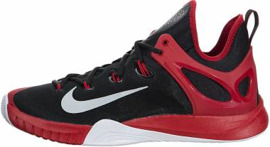 Nike HyperRev 2015 - Schwarz / Silber / Rot / Weiß (Blk / Pr Pltnm-unvrsty Rd-weiß)