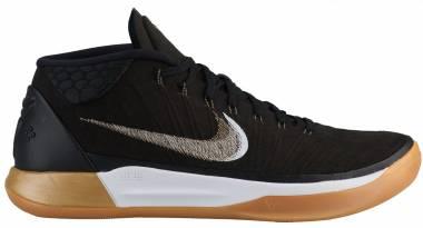 Nike Kobe AD Mid Black/Metallic Gold-anthracite-white Men