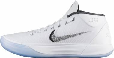 Nike Kobe AD Mid - White Metallic Silver Ice