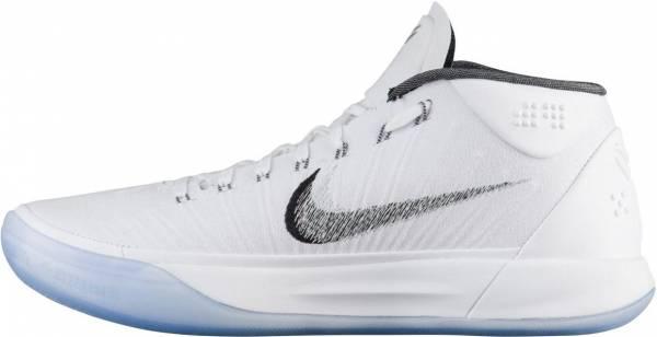 Nike Kobe AD Mid White/Metallic Silver-ice
