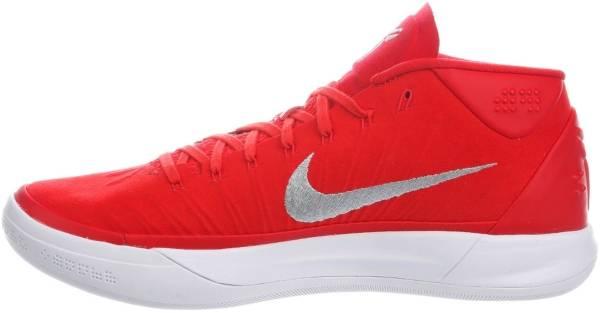 Nike Kobe AD Mid - University Red/Metallic Silver/White Nylon
