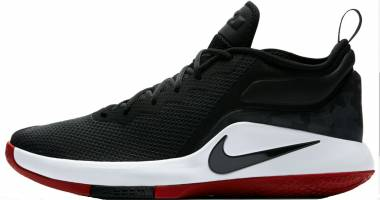 Nike LeBron Witness II - Black/White-gym Red