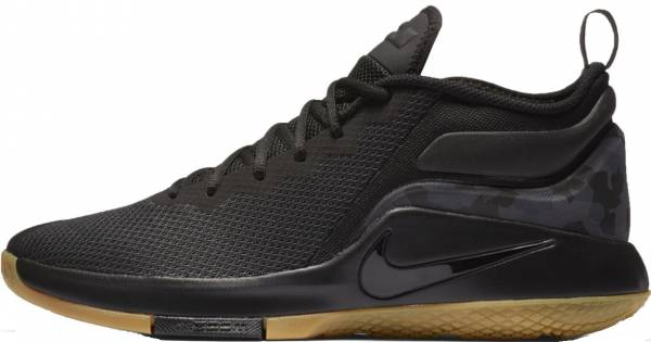 differently 56558 c6902 Nike LeBron Witness II Black Black Gum Light Brown