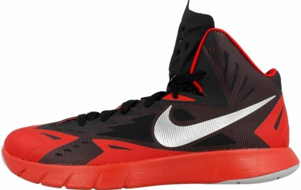 Nike Lunar Hyperquickness - Black / University Red-wolf Grey (652777006)