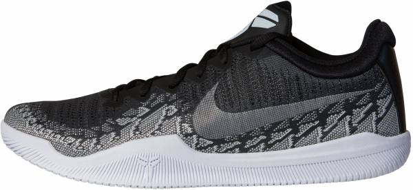 official photos 5abc3 93afb Nike Mamba Rage Anthracite White-black