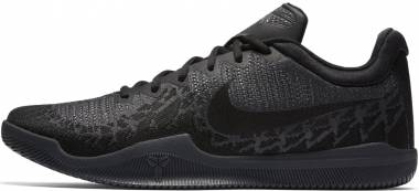 Nike Mamba Rage - Black/Black-dark Grey
