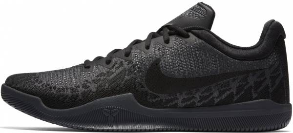 Nike Mamba Rage - Black/Dark Grey-m (908972002)