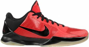 Nike Zoom Kobe 5 - Daring Red, Black-white