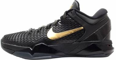 Nike Zoom Kobe 7 System - Black/Metallic Gold-dark Grey