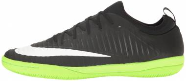 Nike MercurialX Finale II Indoor - Black/White-electric Green-anthracite (831974013)