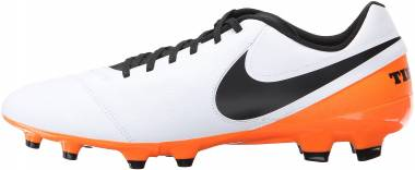 Nike Tiempo Genio II Leather Firm Ground - White (819213108)