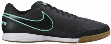 Nike Tiempo Genio II Leather Indoor Black/Turquoise Men