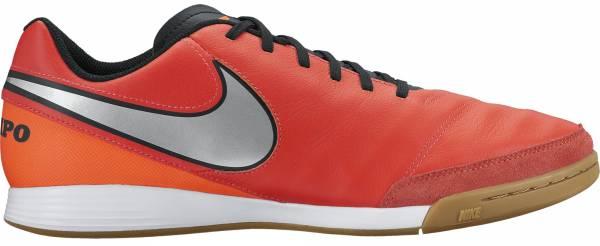 Nike Tiempo Genio II Leather Indoor - Orange (819215608)