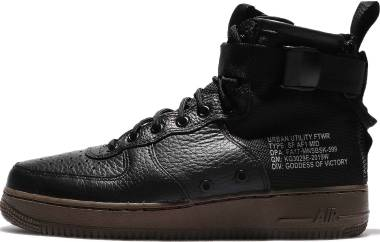 Nike SF Air Force 1 Mid - Black/Black-Dark Hazel (917753002)