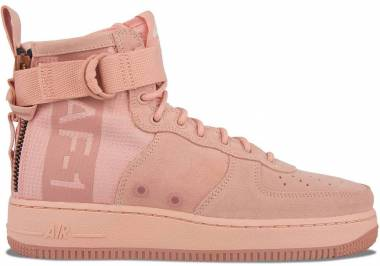 Nike SF Air Force 1 Mid CORAL STARDUST/RED STARDUST Men