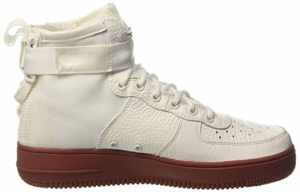 Tipo delantero miseria Laos  Nike SF Air Force 1 Mid sneakers in white + black (only $150) | RunRepeat
