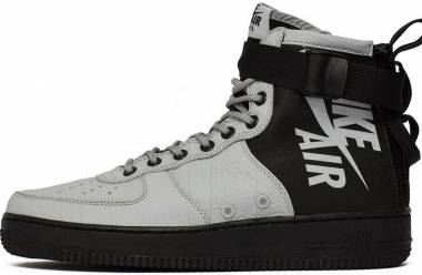 Nike SF Air Force 1 Mid - Wolf Grey, Wolf Grey-black