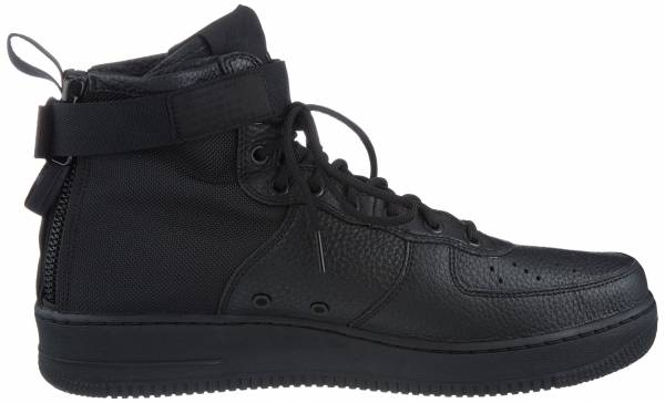 competitive price 2cb24 54d4f Nike SF Air Force 1 Mid Black