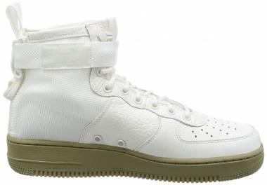 Nike SF Air Force 1 Mid - Ivory Ivory Neutral Olive