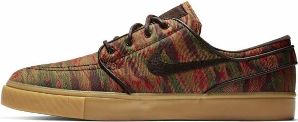 Nike SB Zoom Stefan Janoski Canvas Premium - Multi-color/Velvet Brown (705190900)