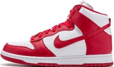 Nike Dunk Retro QS - White/UniversityRed