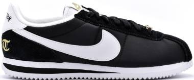 Nike Cortez Basic Nylon Compton - black, white-metallic gold (902804001)