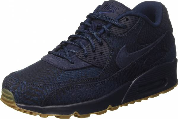 low priced 06538 d28b0 Nike Air Max 90 Premium Indigo