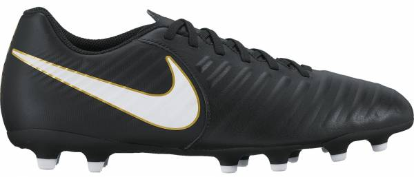 Nike Tiempo Rio IV Firm Ground Black/White
