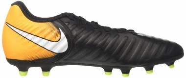 Nike Tiempo Rio IV Firm Ground Black (Black/White/Laser Orange/Volt) Men