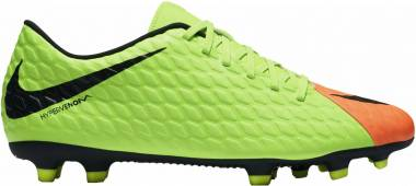 Nike Hypervenom Phade 3 Firm Ground - Verde (Elctrc Green/Black-hyper Orange-volt)