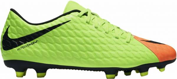 Nike Hypervenom Phade 3 Firm Ground Verde (Elctrc Green/Black-hyper Orange-volt)