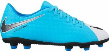 Nike Hypervenom Phade 3 Firm Ground - Blue (White/Black-photo Blue-chlorine Blue)
