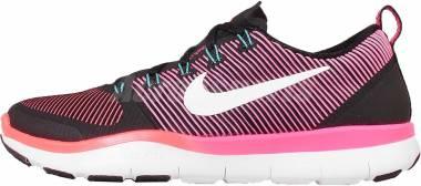 Nike Free Train Versatility - Black White Total Crimson Hyper Pink