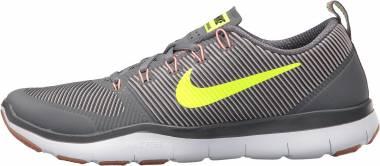 Nike Free Train Versatility - Grau Neongelb