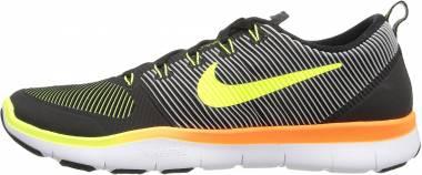 Nike Free Train Versatility - Black (Schwarz / Volt-total Orange)