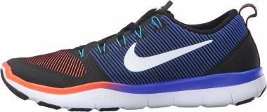 Nike Free Train Versatility - black white total crimson 016 (833258016)