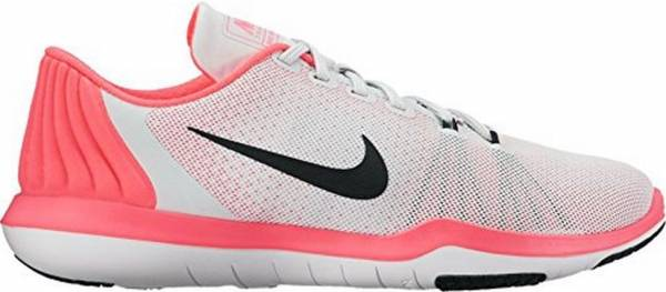 Nike Flex Supreme TR 5 - Multicolor Pure Platinum Black Racer Pink Wolf Grey (852467006)