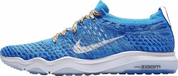 Nike Air Zoom Fearless Flyknit - Blue Glow Racer Blue White