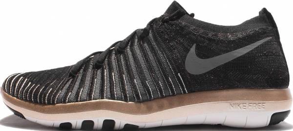Nike Free Transform Flyknit - Black/Red Bronze/White/Grey 005 (833410005)