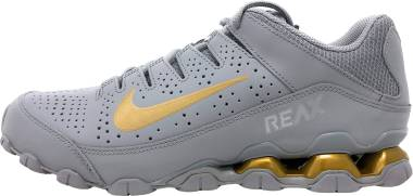 Nike Reax 8 TR - Wolf Grey/Metallic Gold
