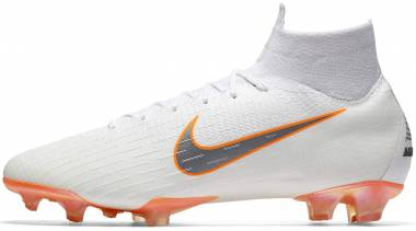 Nike Mercurial Superfly VI Elite Firm Ground - White (AH7365107)