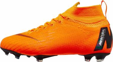 Nike Mercurial Superfly VI Elite Firm Ground Orange Men