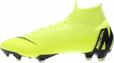 Nike Mercurial Superfly VI Elite Firm Ground - Yellow (AH7365701)
