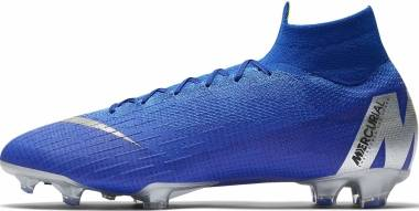 Nike Mercurial Superfly VI Elite Firm Ground - Blue (AH7365400)