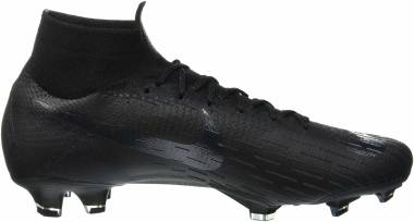 on sale 04e5a 197ae Nike Mercurial Superfly VI Elite Firm Ground Black Men