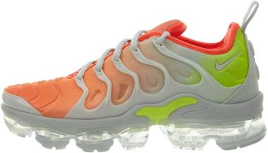 Nike Air VaporMax Plus - GREY/CRIMSON/WHITE (AO4550003)
