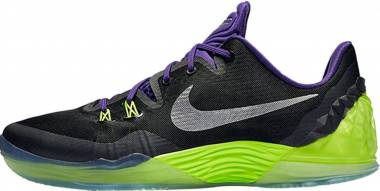 Nike Zoom Venomenon 5 - Black / Silver / Purple / Green (Black / Slvr-crt Mtllc Prpl-vlt) (749884005)