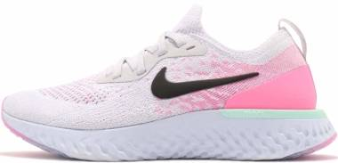 Nike Epic React Flyknit - Pure Platinum/Black-hydrogen Blue (AQ0067007)